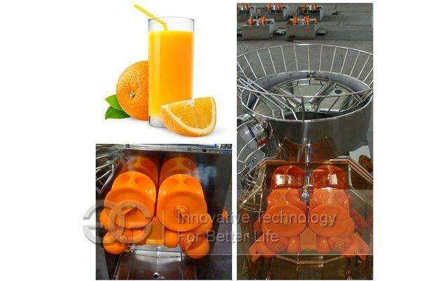 Fresh Orange Juice Extractor Machine