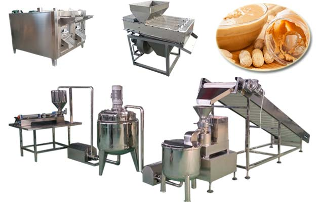 Hot Selling Peanut Butter Production line(100 kg/h)