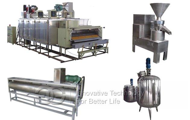 Hot Selling Peanut Butter Production line(300 kg/h)