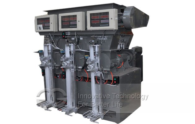Three Spout Cement Packer Machine,Fixed Cement Packing Machine