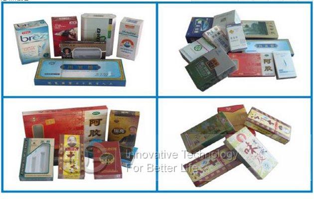 Tea Box Cellophane Packaging Machine