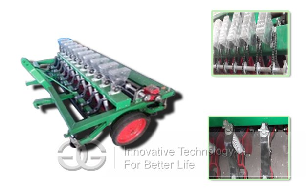 Vegetable Precise Sower Agriculture Machinery