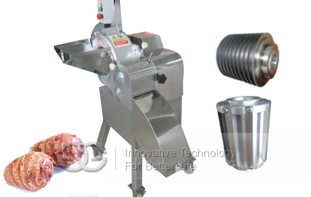 Fruit and Vegetable Cuber Machine