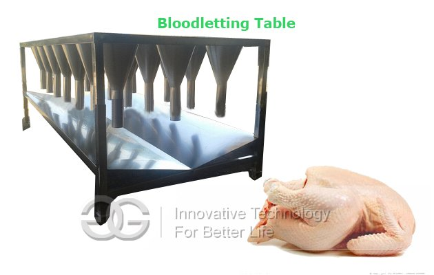 Chicken Bloodletting Machine