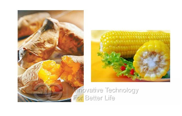 Automatic Electric Sweet Potato Broiler Machine