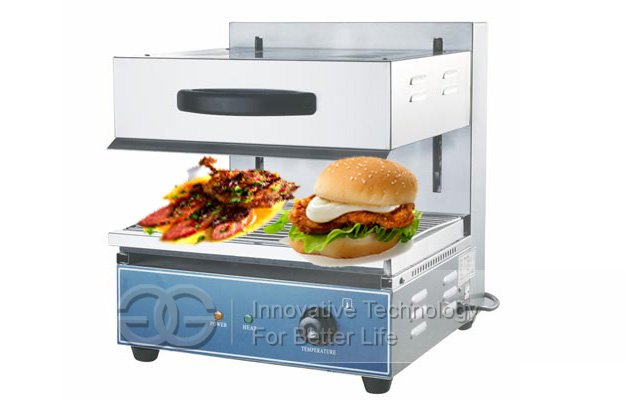 Stainless Steel Electric Lift Salamander|Stove