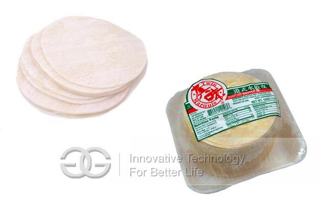 High Efficiency Dumpling Wrapper Making Machine
