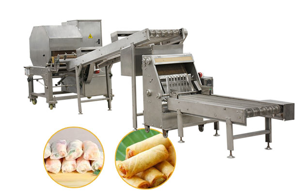 Automatic Crepe Making Machine|Spring Roll Wrapper Making Machine For Sale