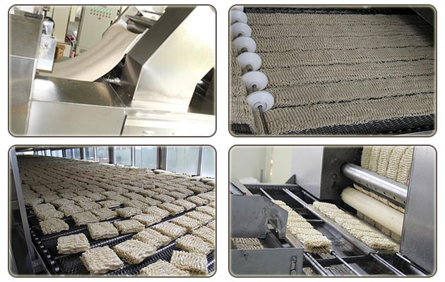 Fully Automatic Fried Instant Noodle Production Line