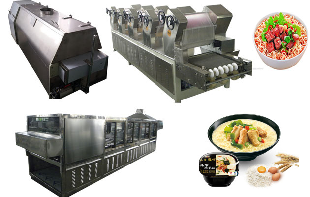 Non-fried Instant Noodle Making Production Line