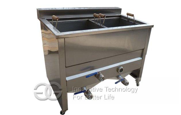 Potato Chips Deep Frying Machine