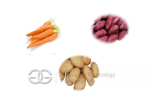 Potato/Carrot Washing and Peeling Machine