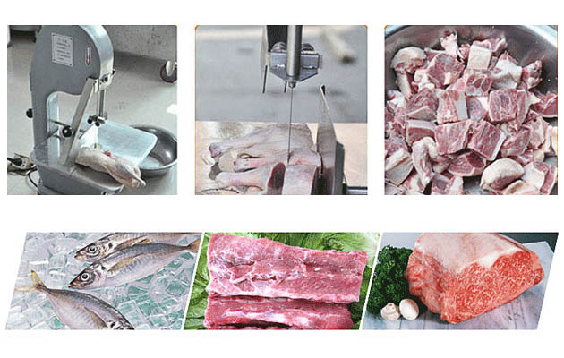 Stainless Steel Meat Bone Saw Cutting Machine