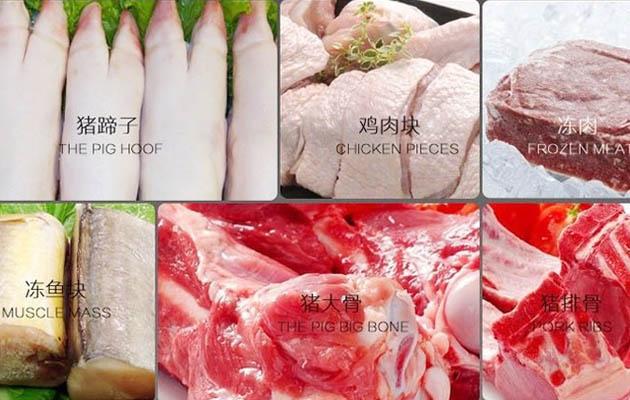 Stainless Steel Meat Bone Saw Cutting Machine