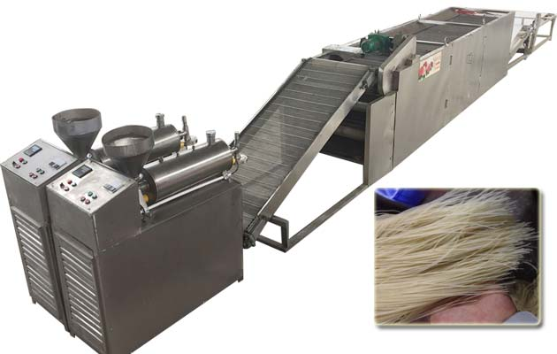 High Efficiency Sweet Potato Starch Noodles Maker Machine