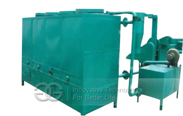 Gas flow Carbonizing Stove Machine