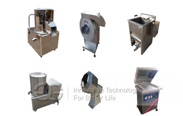 Commercial Finger Potato Chips Processing Line
