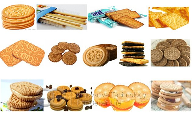 250kg Fully Automatic Biscuit Product Line