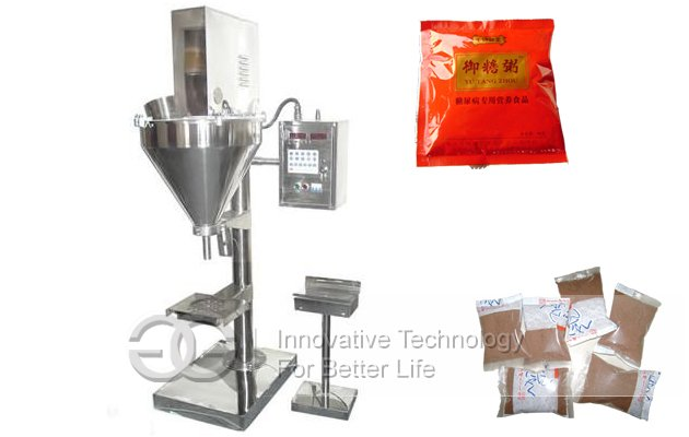Semi Automatic Juice Spices Powder Filling Packing Machine