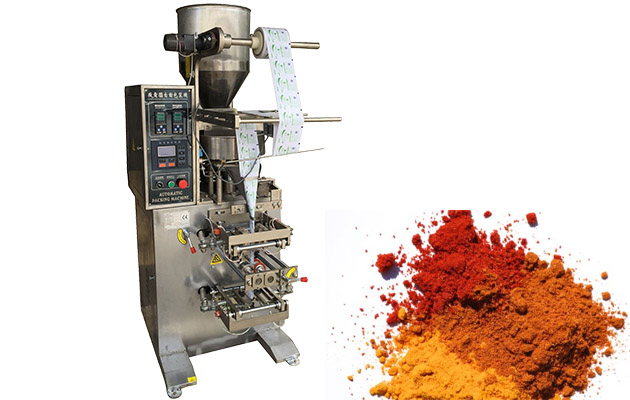 Small Sachet Masala Powder Packaging Machine With Low Price