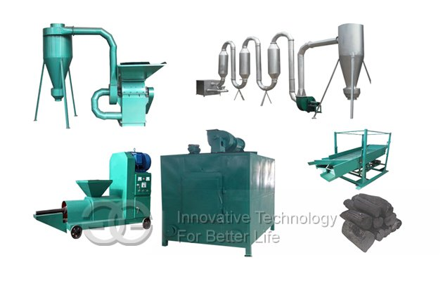 Hot sale Charcoal Production line China