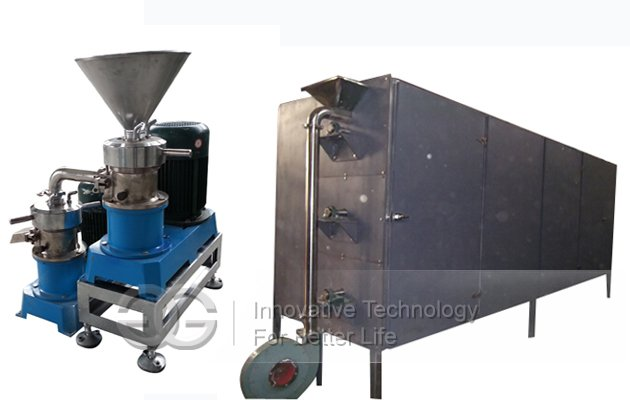 Hot selling 500 kg/h Sesame Butter Production Line with High Quality