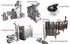 700 kg/h Sesame Tahini Production Line for Sell