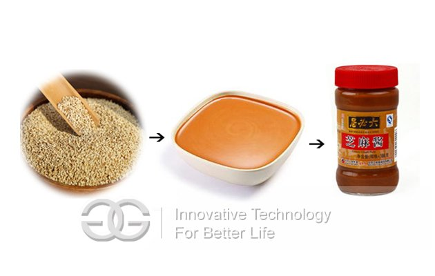 Hot Selling 300kg/h Sesame Tahini Production Line with Good Quality