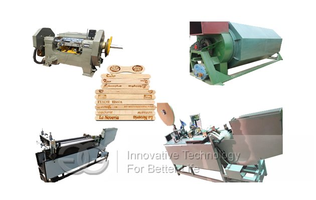 Automatic Wood Ice Cream Stick Product Line in China