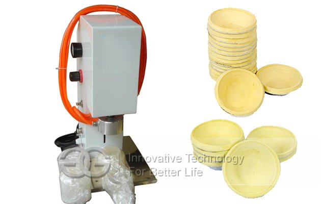 Easy Operation Egg Tart Skin Forming Press Machine