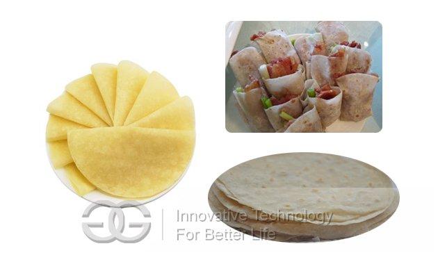 Roasted Duck Pancake Making Machine|Crepe Maker Machine