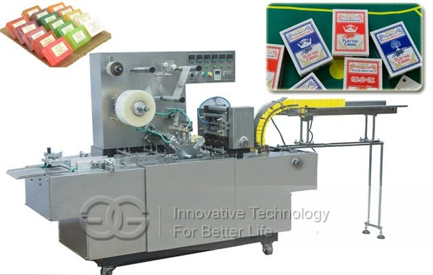 Poker Cellophane Wrapping Machine|Soap Overwrapping Machine