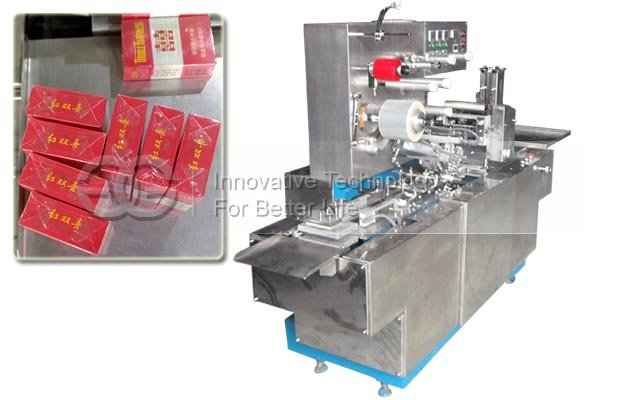 Plastic Film Wrapping Machine for Cigarette Box