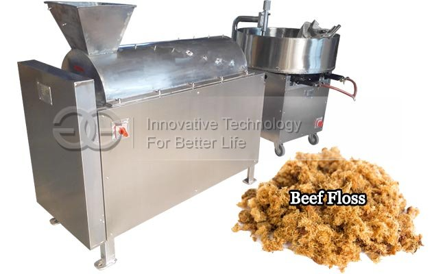 Pork Meat Floss Making Machine|Rousong Making Machine for Sale