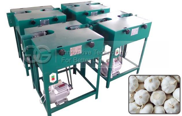 Fresh Wet Garlic Root and Stem Flat Cutting Machine