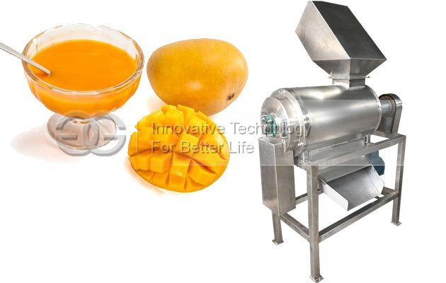 Industrial Mango Pulp Making Machine