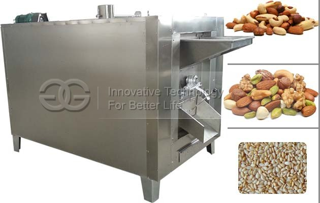 Commercial Nuts Roaster Machine