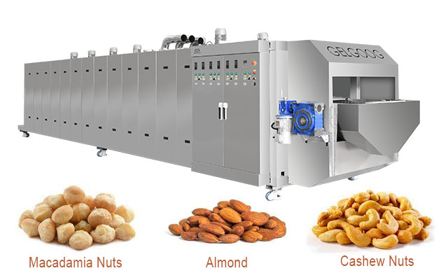 Commercial Macadamia Nuts Roaster Machine for Sale