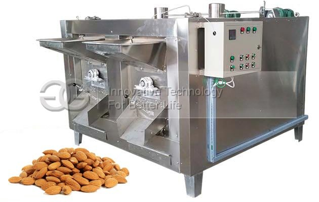 Drum Type Almond Roasting Machine Equipment for Sale