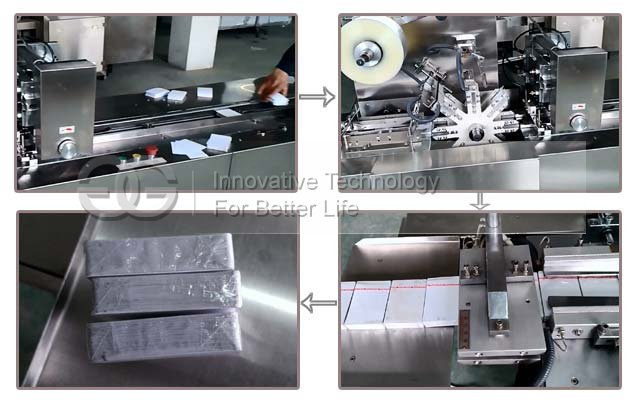 Auto Cellophane Playing Cards Wrapping Machine GGB-200B