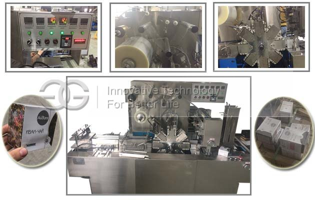 Automatic Tea Box Cellophane Overwrapping Machine