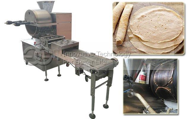 Automatic Crepe Making Machine|Injera Maker Machine for Sale