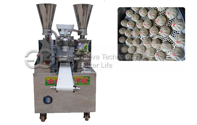 Two Hopper 110v Automatic Steamed Stuffed Bun Making Machine