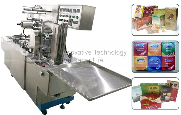 Automatic BOPP Wrapping Machine for Condom Packets