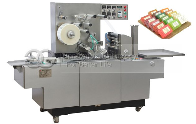 Transparent Soap Plastic Wrapping Machine