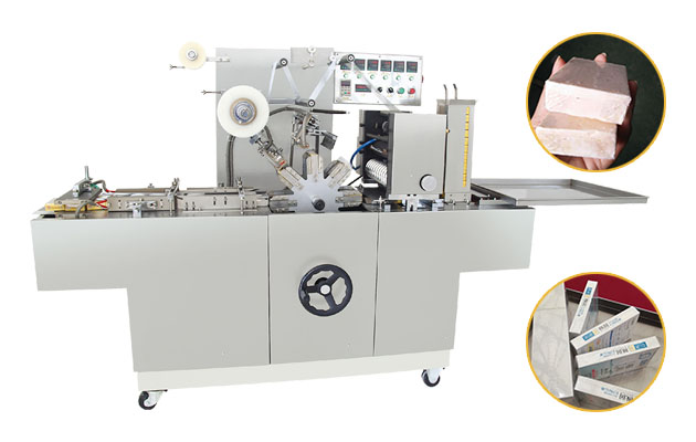 Transparent Film Plastic Soap Wrapping Machine for Sale