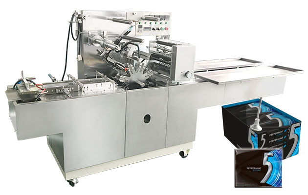 Automatic Cellophane Overwrapping Machine BTB-300B for Chewing Gum Box