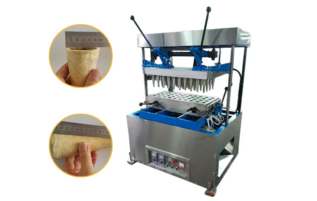 Pizza Cone Making Machine with 40 Moulds
