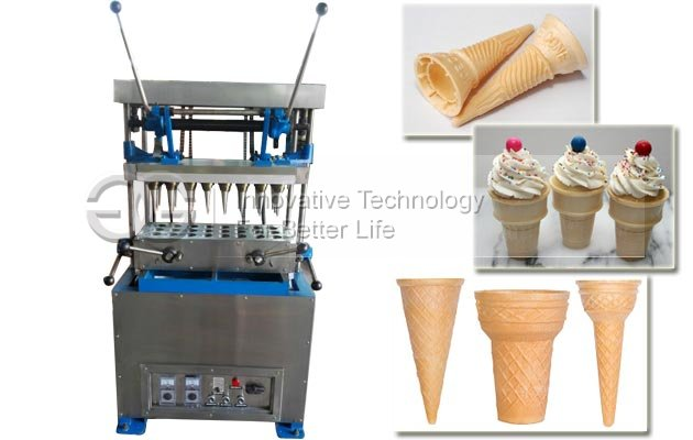 Wafer Ice Cream Cone Maker Machine