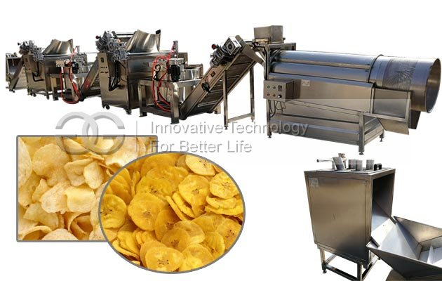 Plantain Chips Production Line